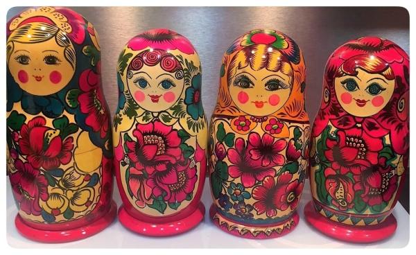 matriochka traditionnelle russe polkhov maidan