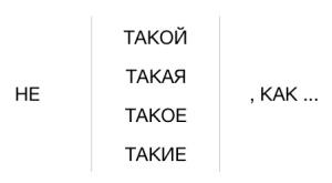 Grammaire russe comparer takoi