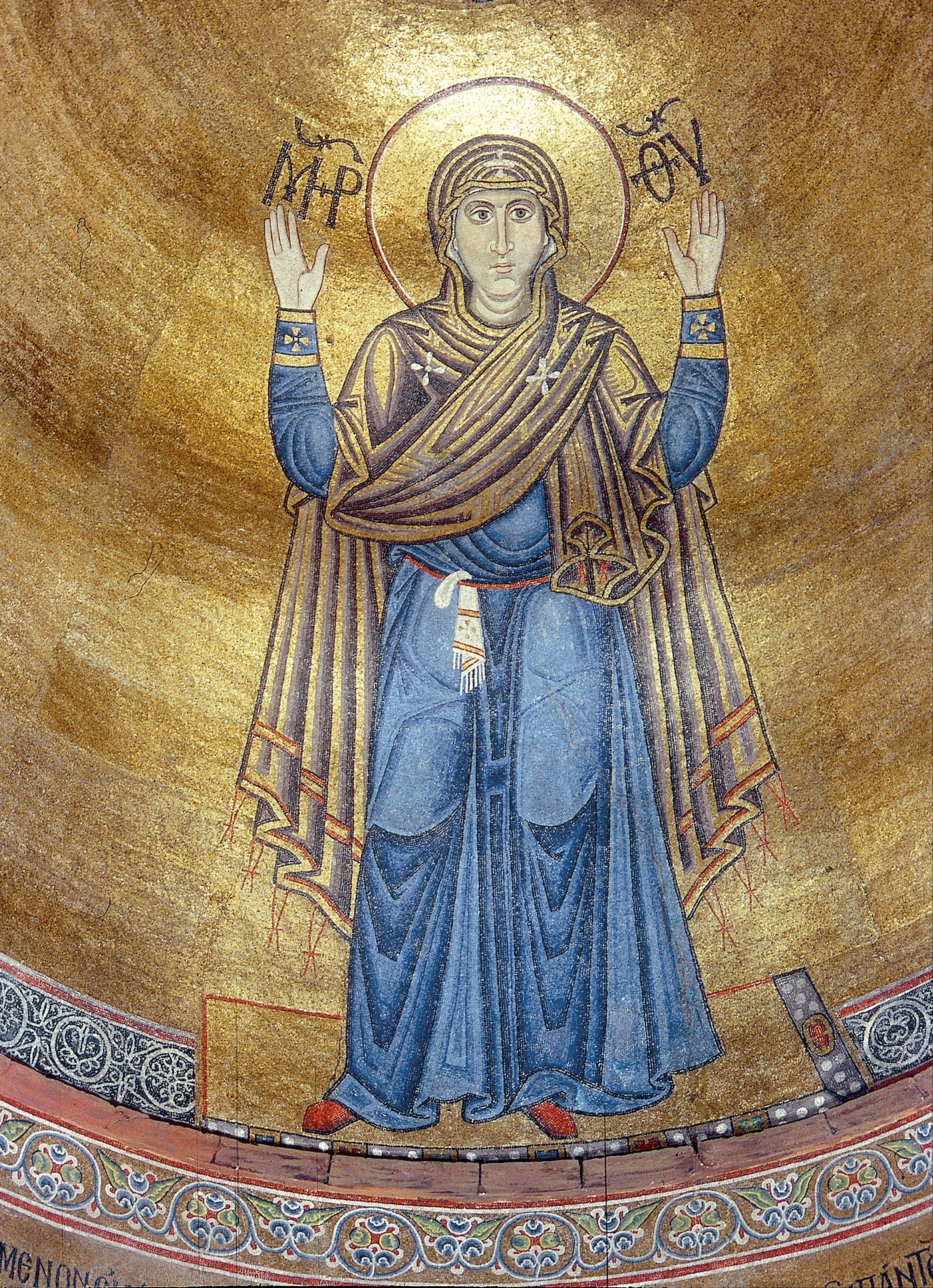 Icone orthodoxe vierge mur indestructible
