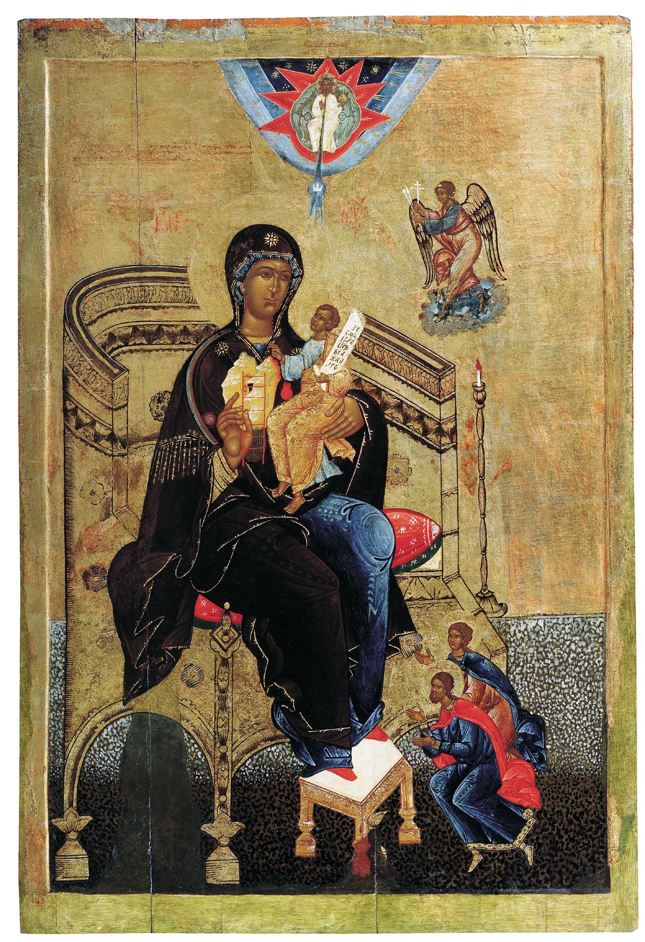 Mère de Dieu Mont Nerukosechnaya orthodoxe icône