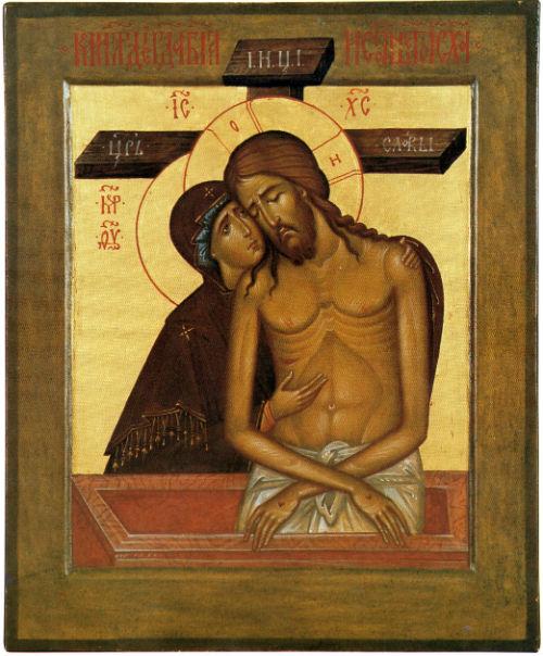 icone mater dolorosa orthodoxe