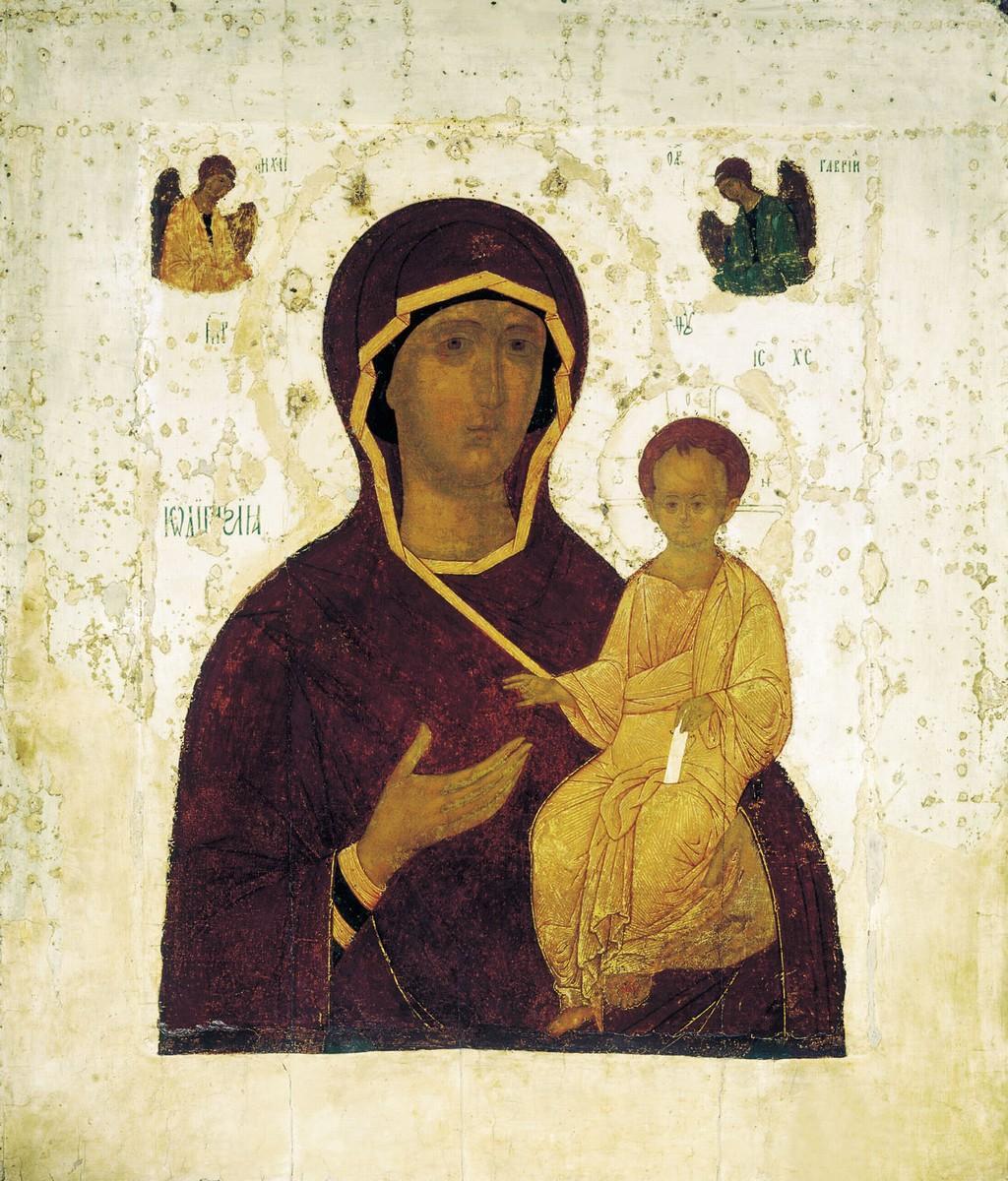 Mère de Dieu de Smolensk icône orthodoxe