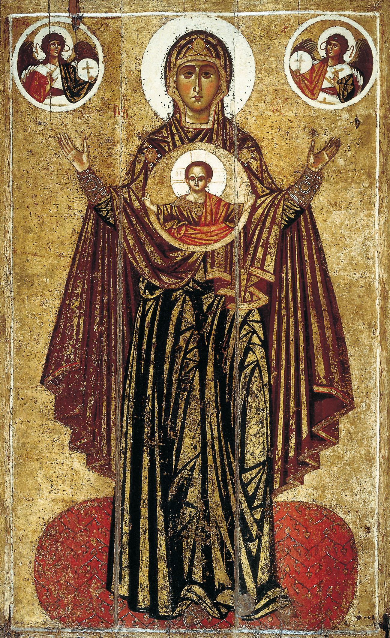Orante d'Iaroslavl icone orthodoxe