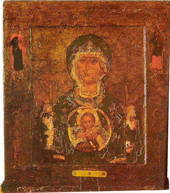 Mère de Dieu du Signe de Novgorod icône orthodoxe
