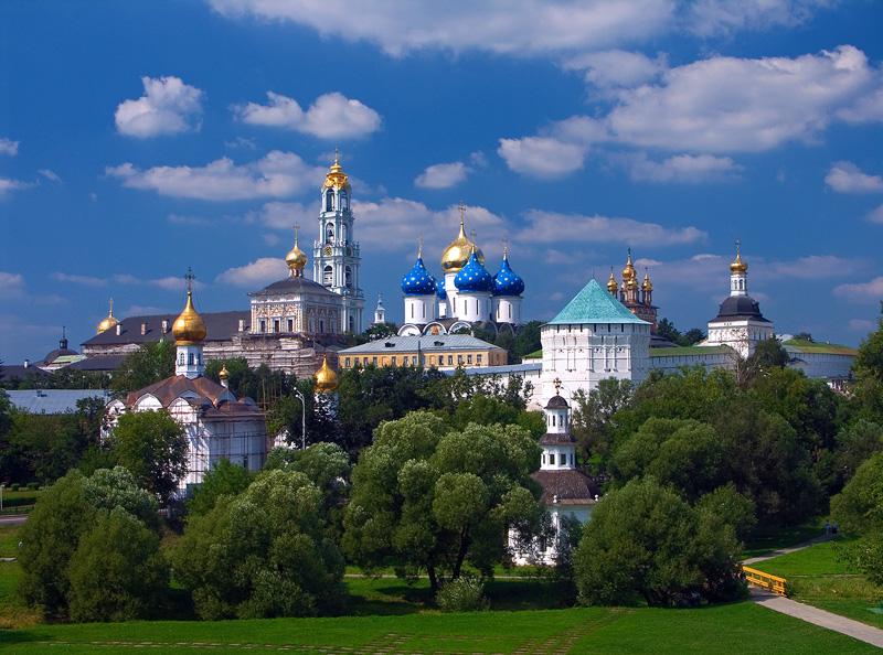 lavra saint trinité saint serge visiter Russie lieu inoubliable