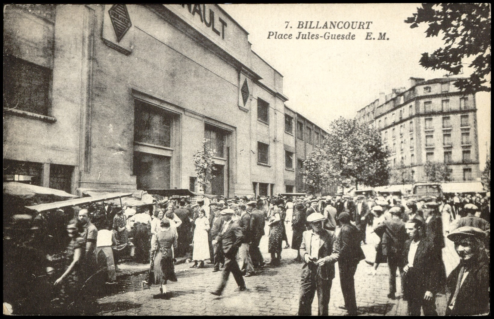 russes Renault émigration France Boulogne Billancourt