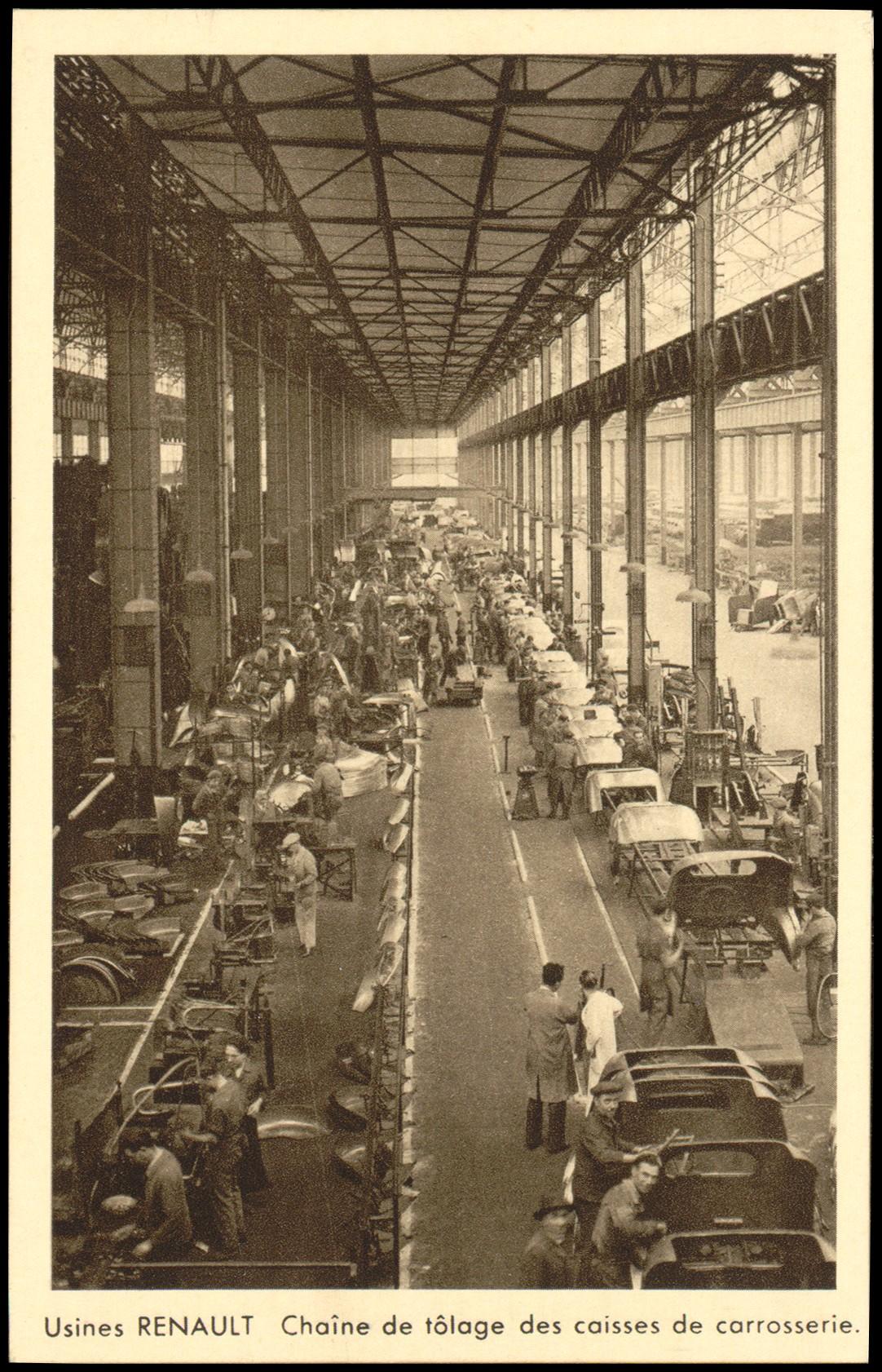 russes usines Renault émigration France Boulogne Billancourt
