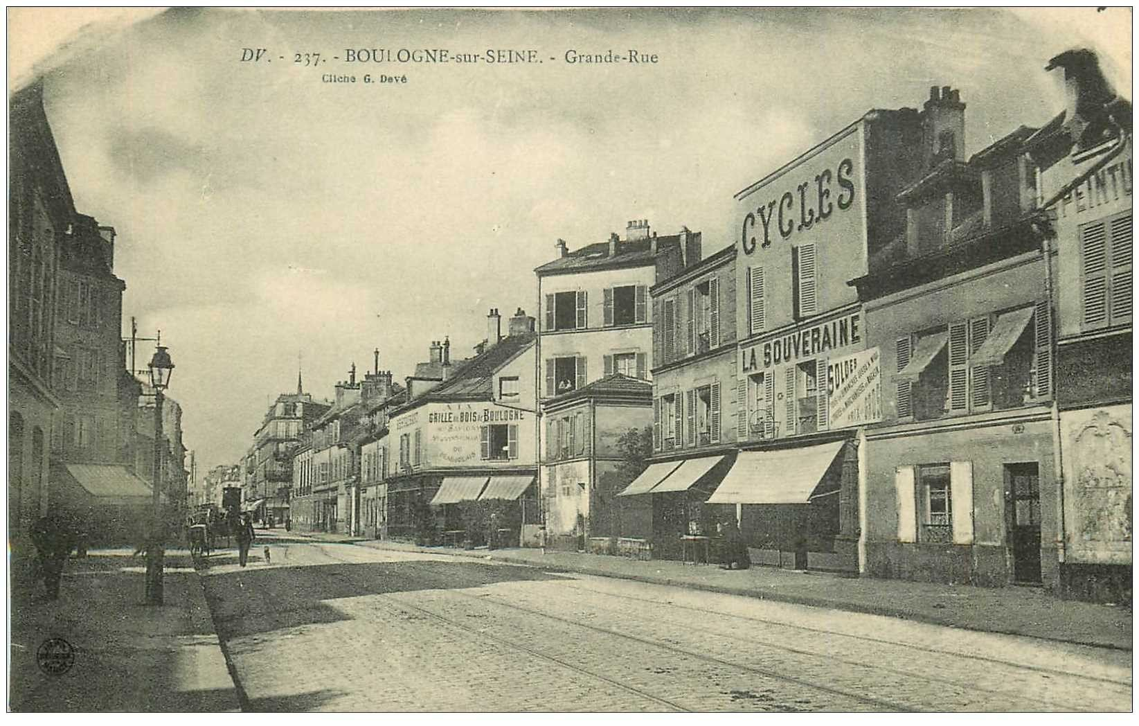 emigration russe Boulogne sur seine Billancourt France Billankoursk guerre années 20 русская эмиграция франция