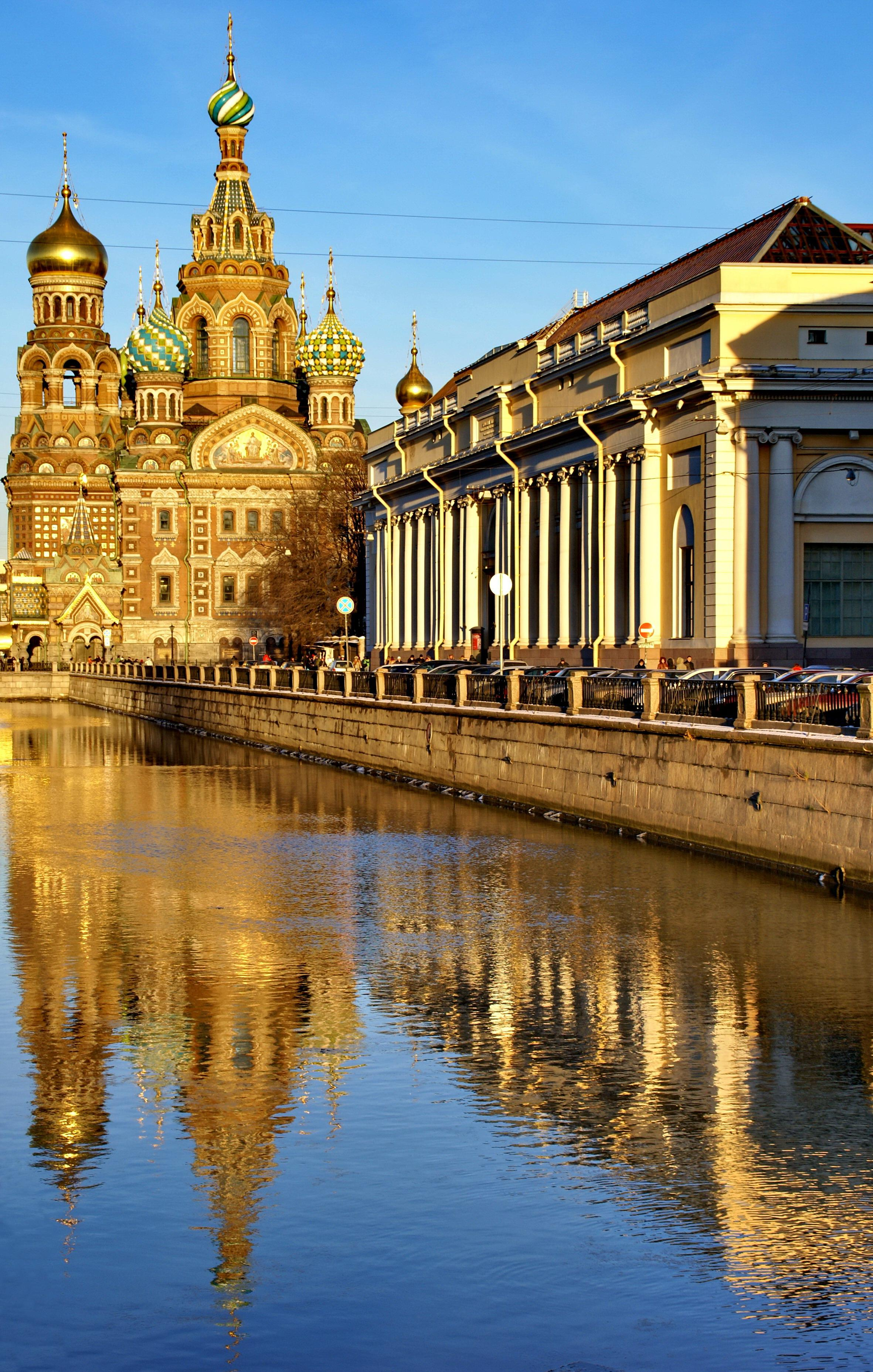 saint Petersbourg Russie visiter canal griboedov spas na krovi inoubliables nuit blanche