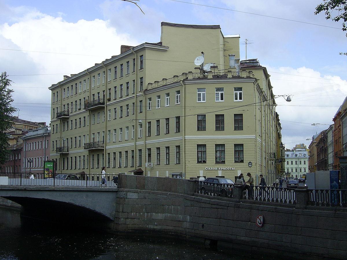 maison usurière Petersbourg dostoievski crime châtiment raskolnikov