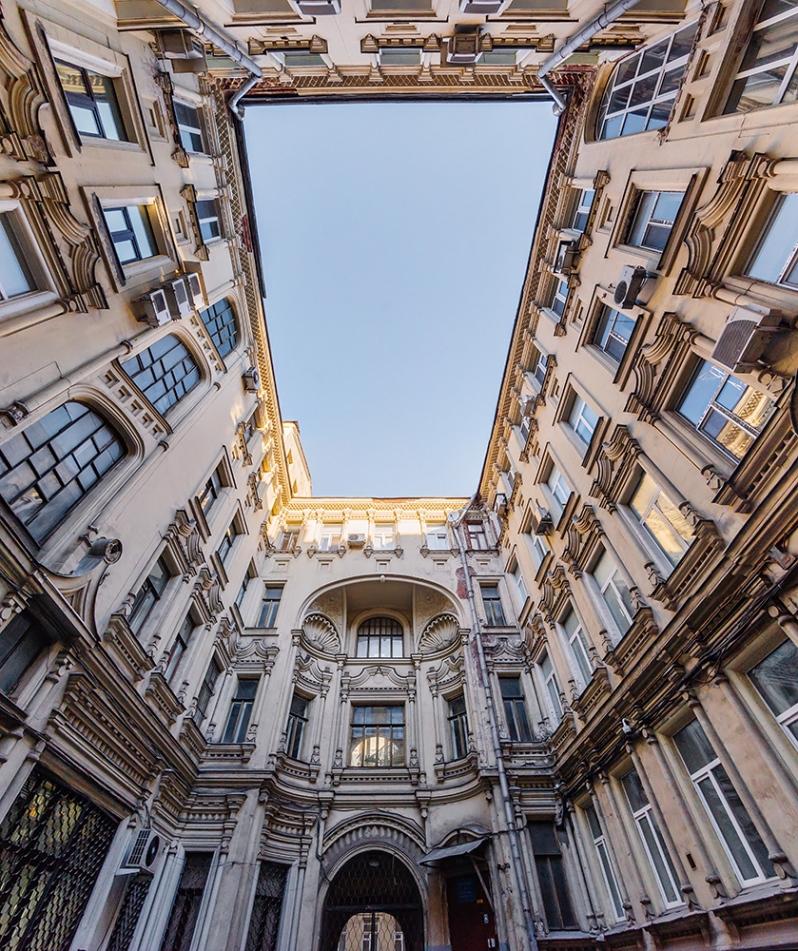 Savvinskoe poddvorie Moscou Tverskaya architecture pseudo-russe