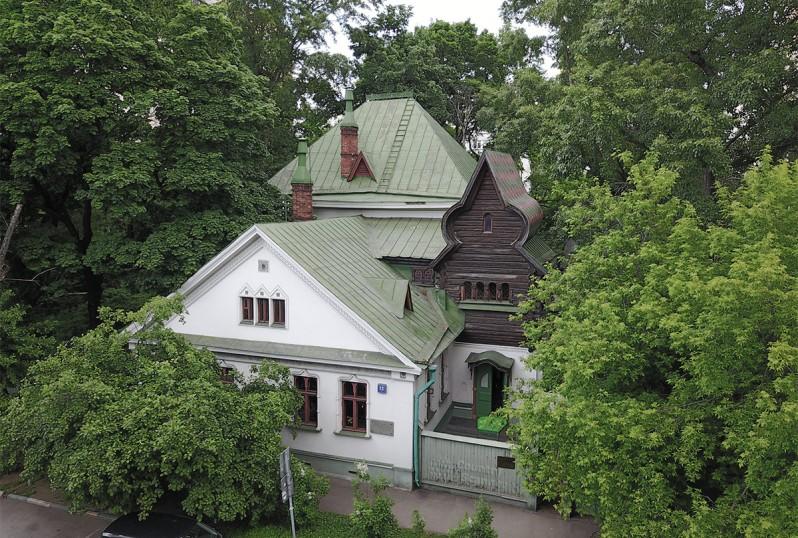 Maison peintre Vasnetzov Moscou Russie architecture pseudo-russe