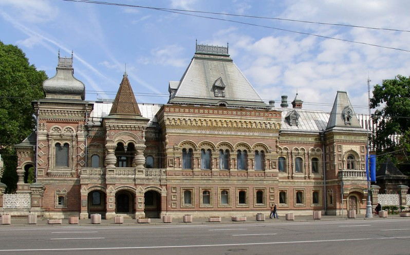 ambassade France Moscou Russie maison Igoumnov architecture pseudo-russe