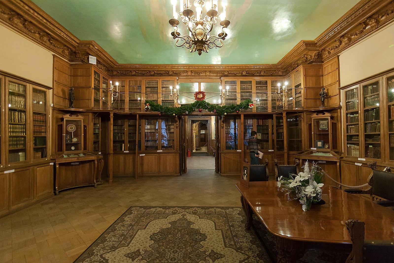 Palais Felix Youssoupov Saint Petersbourg Cabinet