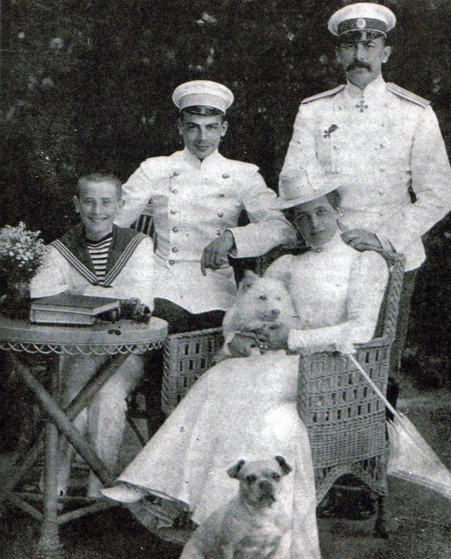 Jeune felix Youssoupov famille