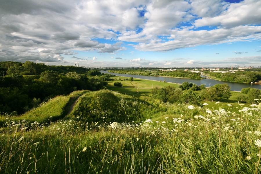 Moscou Kolomenskoie parc dyakovo archéologie fatianovo réserve historique naturelle