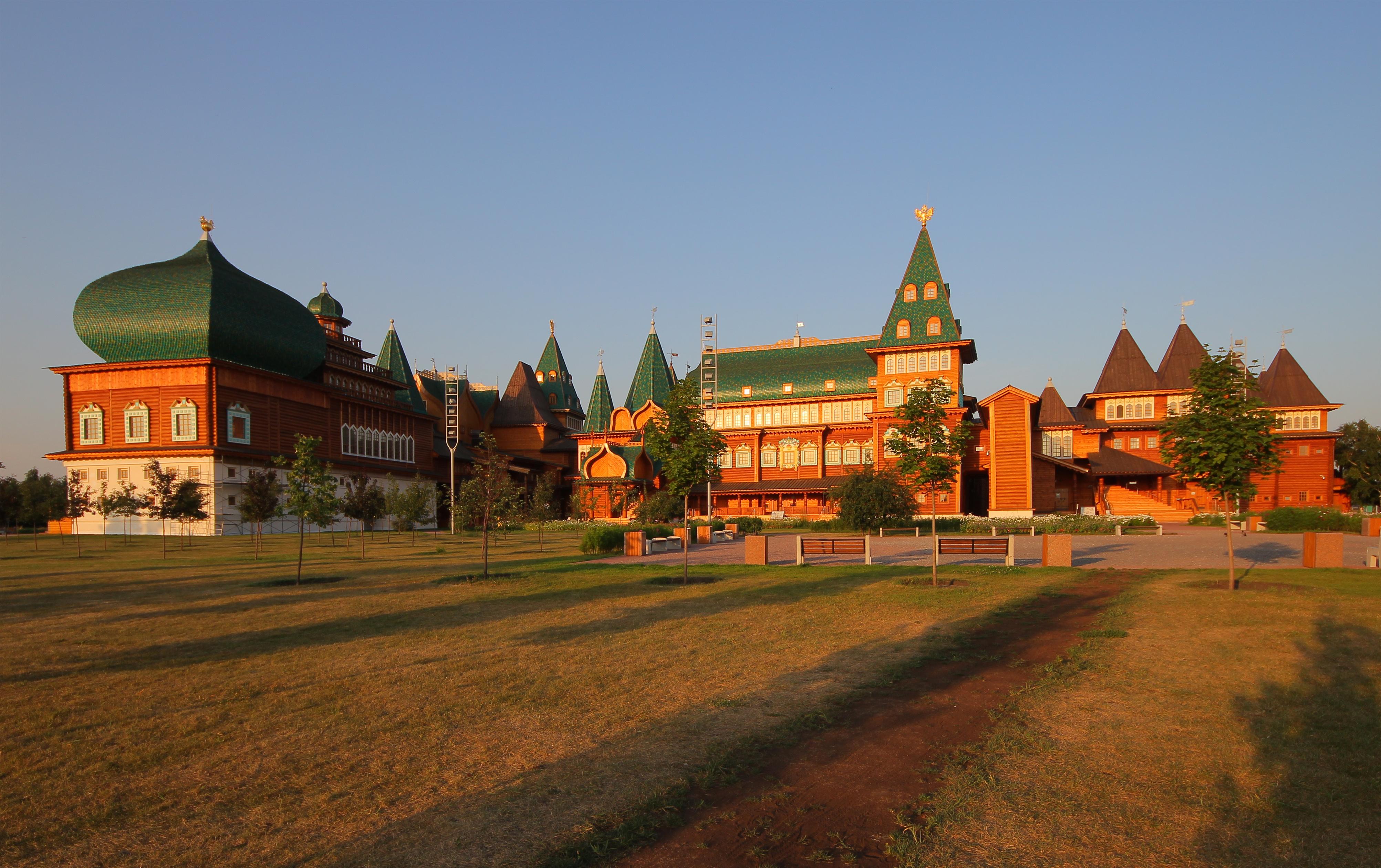 Moscou Kolomenskoie parc réserve historique naturelle église orthodoxe bois