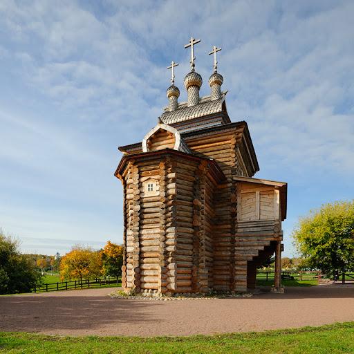 Moscou Kolomenskoie parc réserve historique naturelle église bois orthodoxe