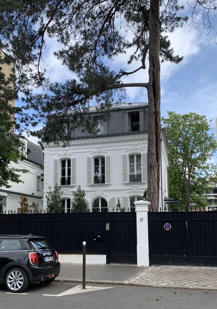 maison Felix Youssoupov France Boulogne
