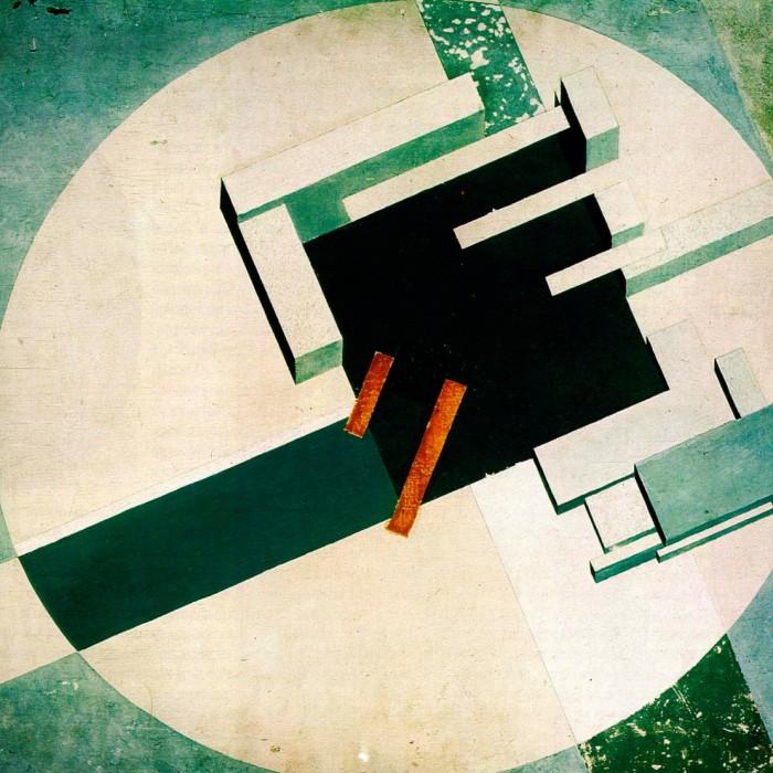 El Lissitzky Proun Ville art russe 20 siecle