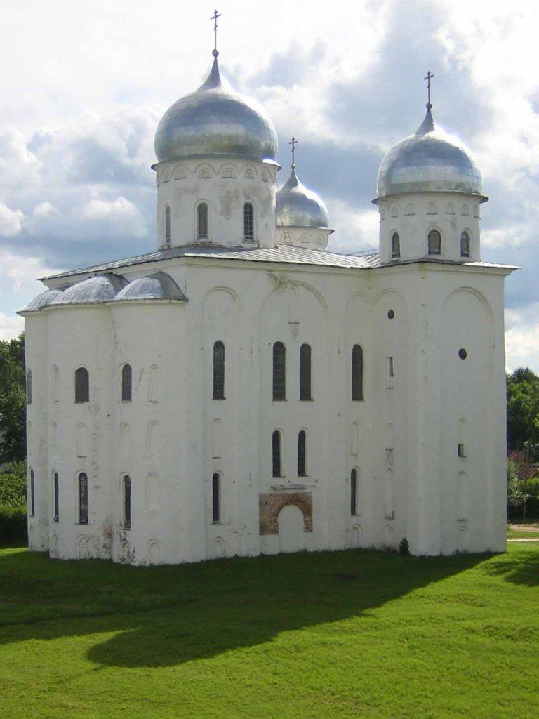 Cathédrale Saint-Georges (Novgorod, Russie)