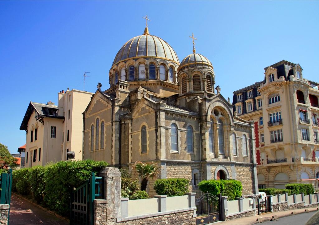Église Saint Alexandre Nevsky et de la Protection de la Mère de Dieu (Biarritz, France)