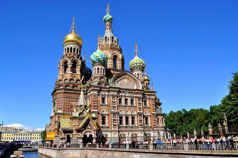 Cathédrale Saint-Sauveur-sur-le-Sang-Versé (Saint-Petersbourg, Russie)